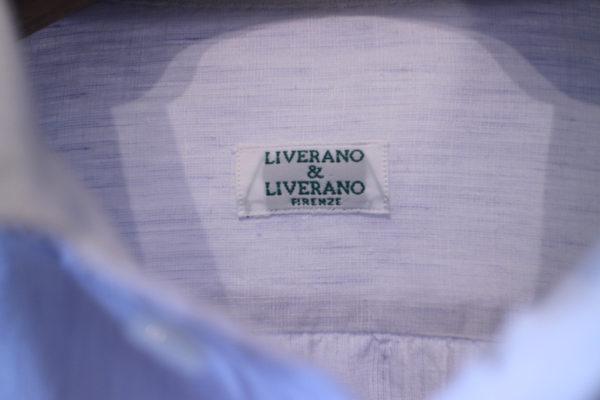 Livarano&Liverano リネンシャツ
